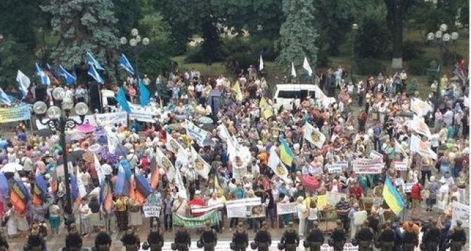 В Киеве может начаться общенациональная забастовка объединенных профсоюзов