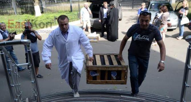 Луганский онкологический диспансер получил медоборудование из России (фото)