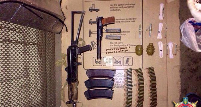 В Донецкой области задержали курьера со взрывчаткой (фото)