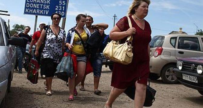 В Харьковской области не уменьшается поток переселенцев
