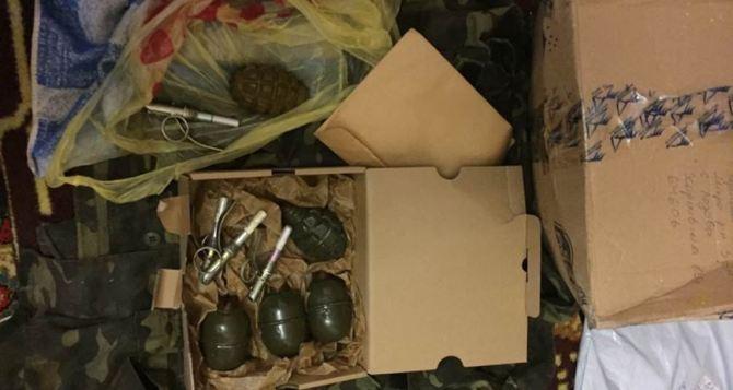 Военный из Луганской области выслал по почте гранаты в Харьков