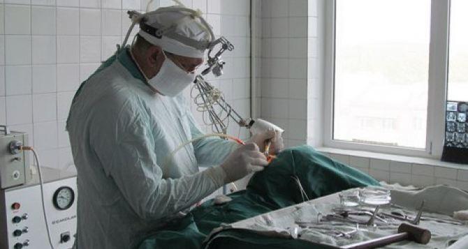 В Харьковский госпиталь доставлены 25 бойцов из зоны боевых действий