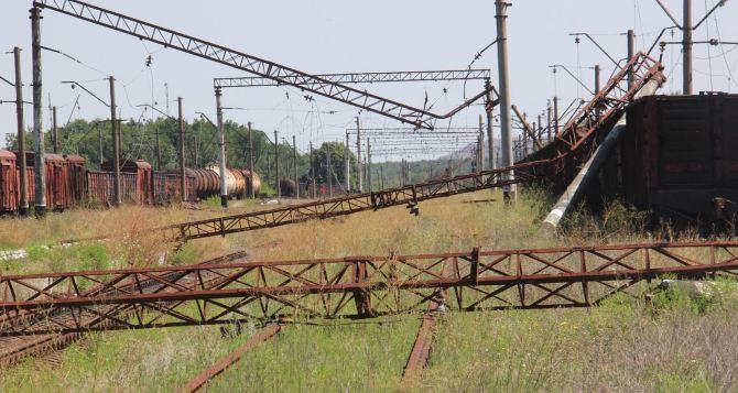 Началось восстановление железной дороги Горловка-Артемовск (фото)