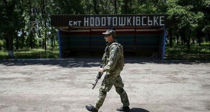 Луганский губернатор осмотрел место строительства логистического центра в Новотошковке