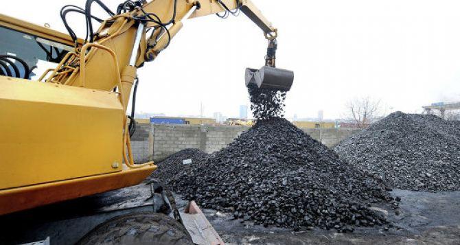 На украинских ТЭС снизились запасы угля