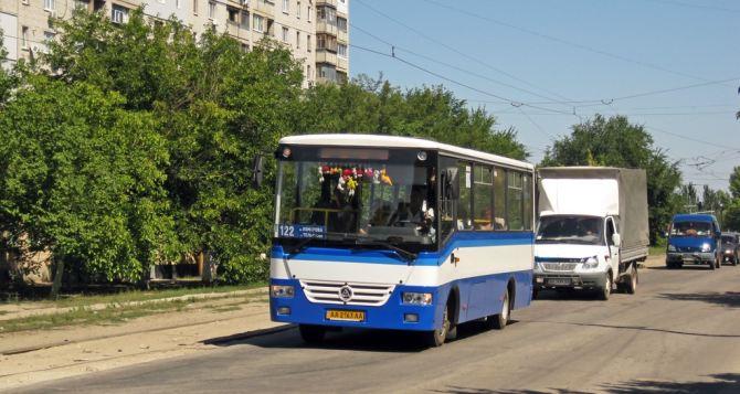 В Луганске на маршруты №122 и