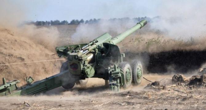Луганская область под обстрелом из артиллерии. Есть разрушения и раненые