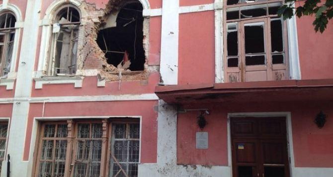 В Луганске ремонт музея истории и культуры завершат к середине ноября