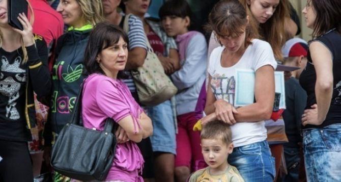 В Нюрнберге собрали 10 тысяч евро на помощь переселенцам в Харькове