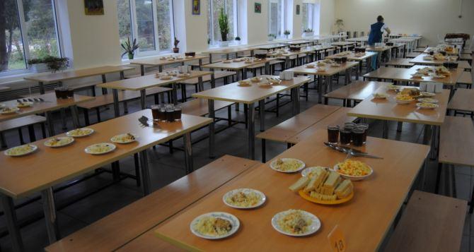 Во всех школах самопровозглашенной ЛНР до 1октября организуют горячее питание