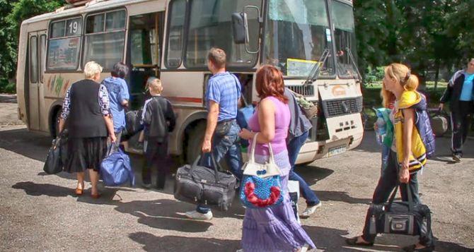 В Луганской области зарегистрировано 226 тысяч переселенцев