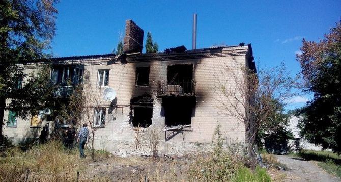 В Иловайске построят 32 дома взамен разрушенных обстрелами