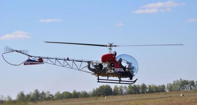 В Украине презентовали новый вертолет