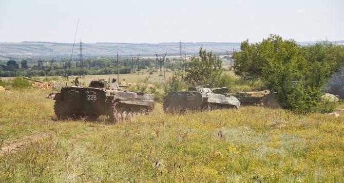 В ЛНР заявили о завершении отвода артиллерии