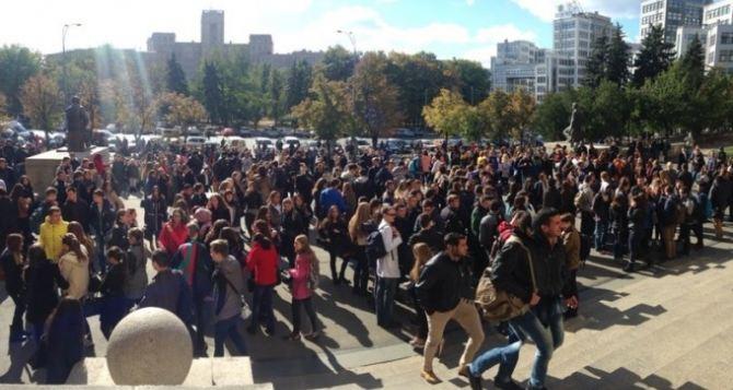Из харьковского университета имени Каразина эвакуировали студентов