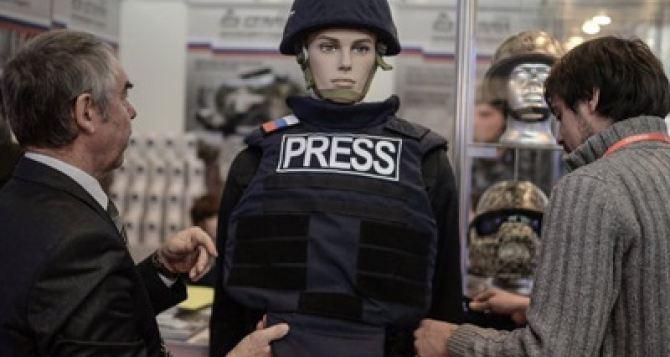 В России разработали бронежилет для журналистов