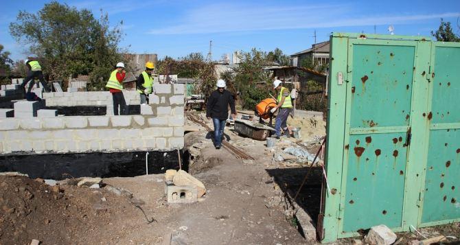 Строительство 50 домов в Новосветловке и Хрящеватом продолжается (фото)