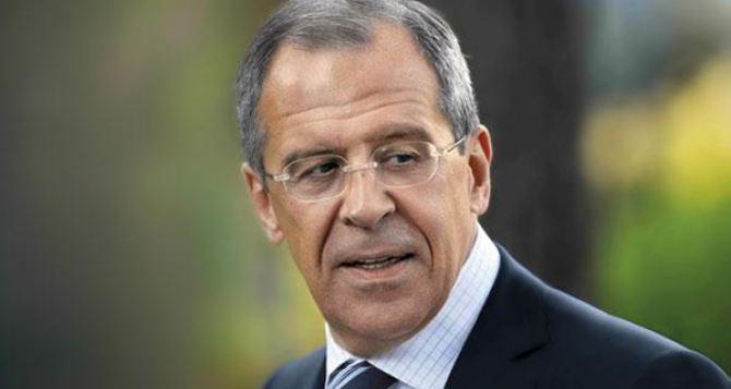 Лавров заявил, что Россия не допустит притеснения жителей Донбасса