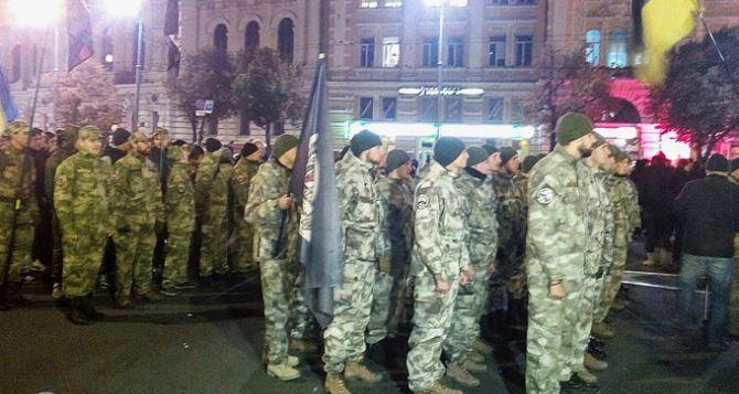 В Харькове прошел Марш героев. На этот раз без балаклав