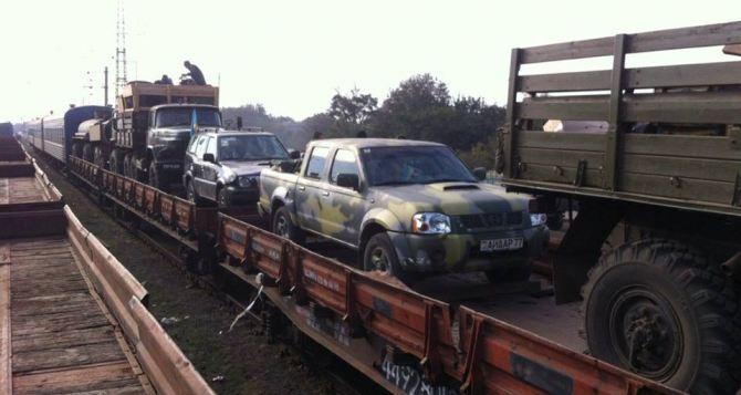 Батальон «Айдар» возвращается в зону АТО на Донбасс (фото)