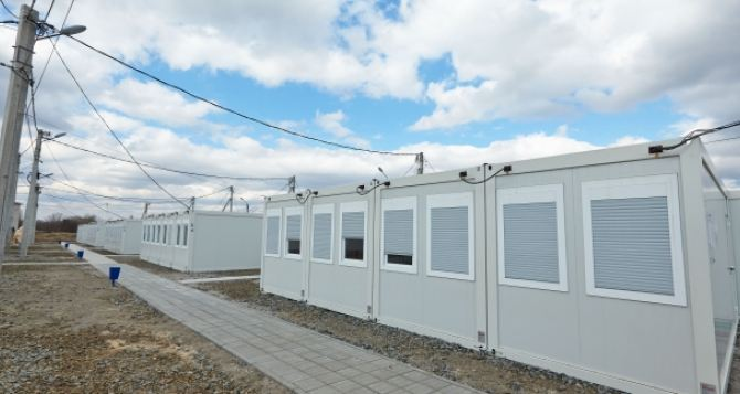 В Харькове возле модульного городка для переселенцев построят спортплощадку