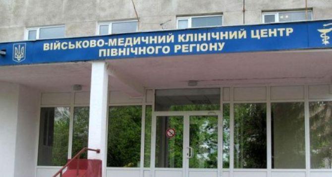 В Харьковский госпиталь за два дня привезли больше  50 военных