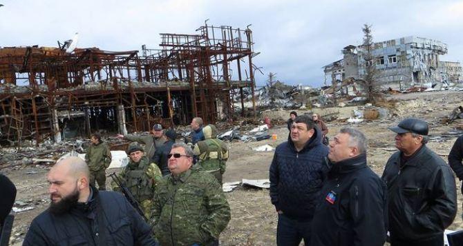 В Донецке готовятся к разминированию территории возле аэропорта (фото)