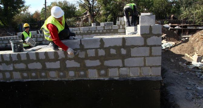 В Новосветловке продолжается строительство 25 новых домов