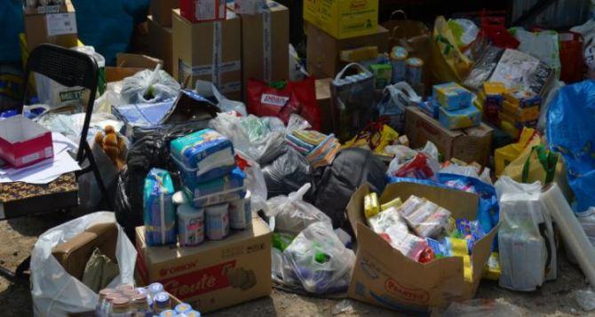 Жители Луганска получили более 6 тысяч наборов гуманитарной помощи
