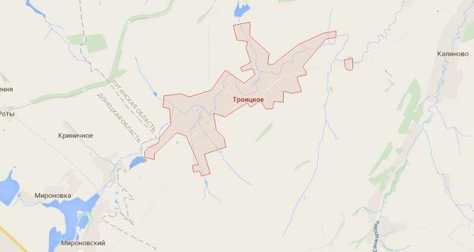 В районе Троицкого Луганской области произошло боестолкновение