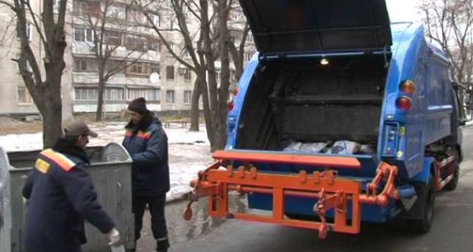 В Харькове бастуют мусорщики
