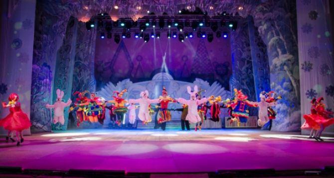 В харьковском театре оперы и балета начались новогодние представления
