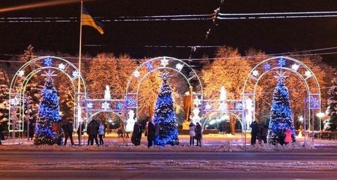 Синоптики обещают похолодание и снег в Луганске на Новый год