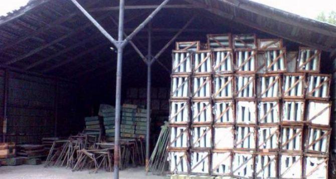 Под Харьковом пытались взорвать склад боеприпасов. —Минобороны