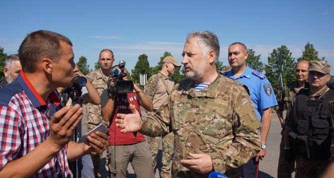 Донецкий губернатор рассказал о проблемах, с которыми столкнулся в 2015 году