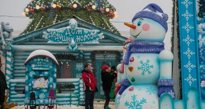 Новогодний городок в Харькове будет работать еще неделю