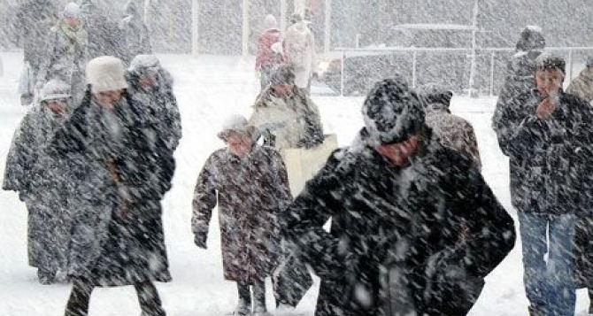 В течение трех дней в Харькове непрерывно будет идти снег. —Синоптики