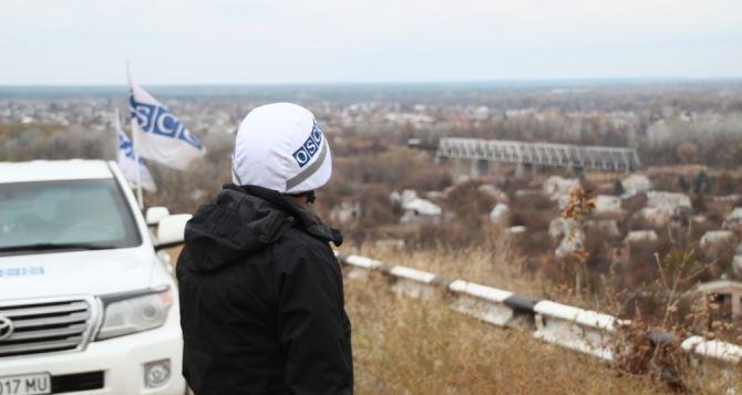 В Станице Луганской открыли передовую патрульную базу ОБСЕ