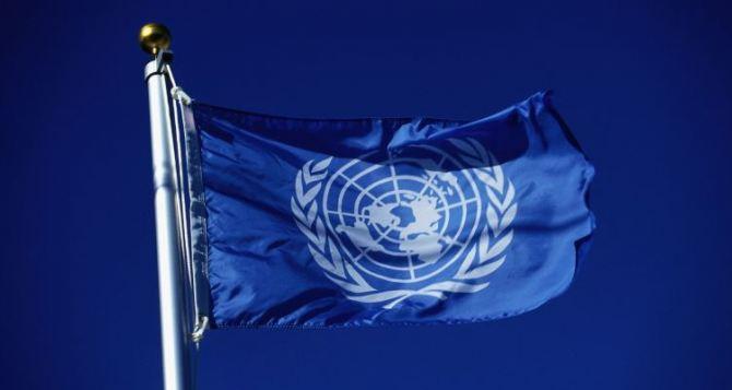 В Украине заработает миссия ООН по стабилизации ситуации на Донбассе