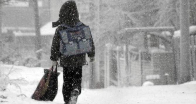 Занятия в школах Харьковской области приостановлены до 21января