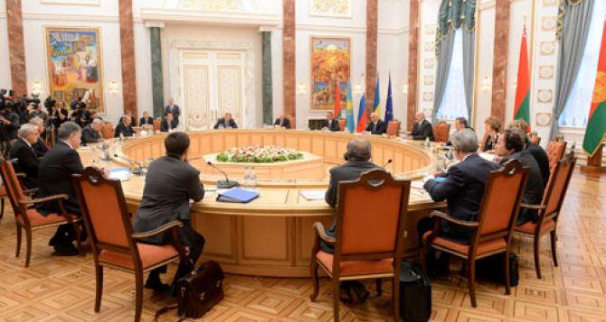В Минске сегодня пройдут переговоры Контактной группы по Донбассу