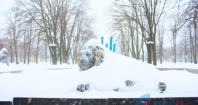 В Луганск возвращаются сильные морозы