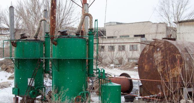 В самопровозглашенной ЛНР заработала установка по переработке промышленных отходов