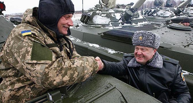 Украинским контрактникам повысили зарплату