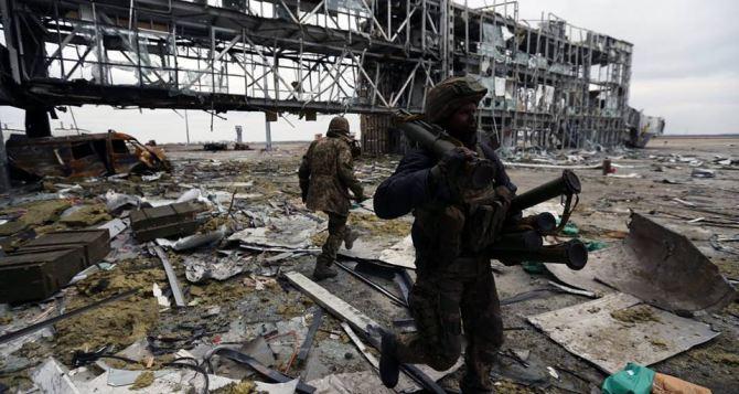 В Донецком аэропорту стрельба не прекращается. — ОБСЕ