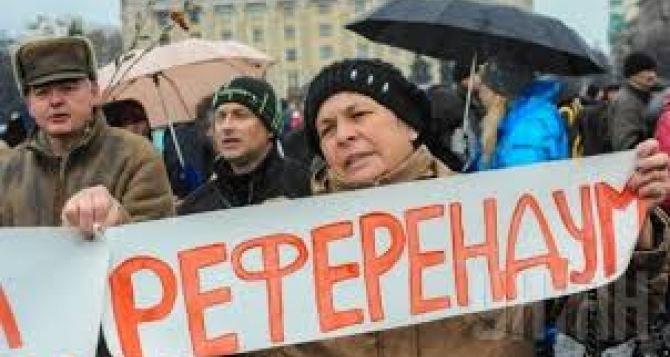 Проводить референдум по Донбассу— бессмысленно. —Аналитик