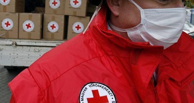Красный Крест доставил в ЛНР более 255 тонн гуманитарной помощи