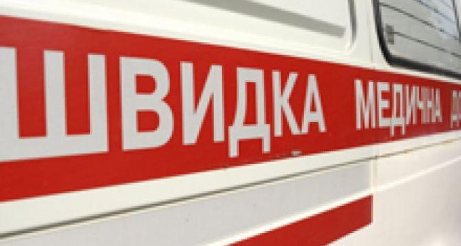 В Харькове две «скорые» застряли в ледяной ловушке