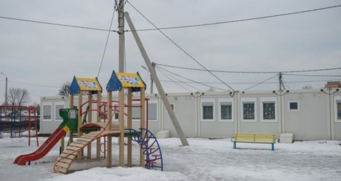 В Харькове в  модульном городке для переселенцев построят центр досуга