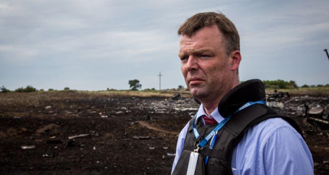 Замглавы специальной мониторинговой миссии ОБСЕ  едет в Донецк